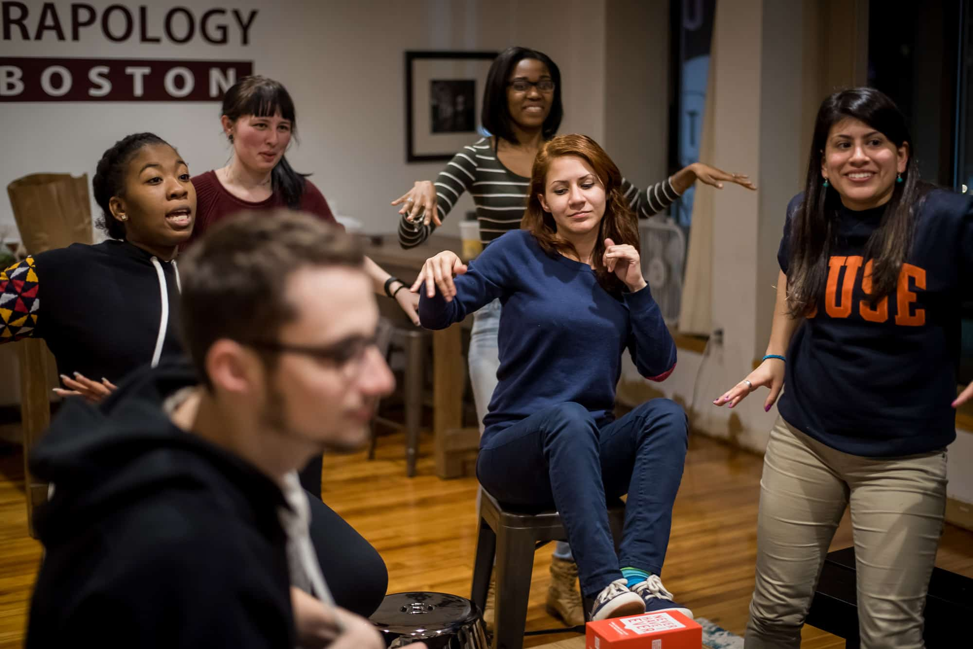 Trapology Escape Room Boston Team Building Game night fun