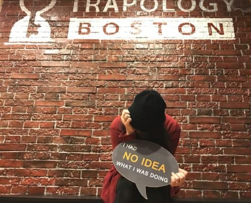 Trapology Boston escape game player regrets