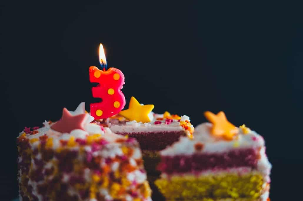 A delicious cake for Trapology as it turns 3!