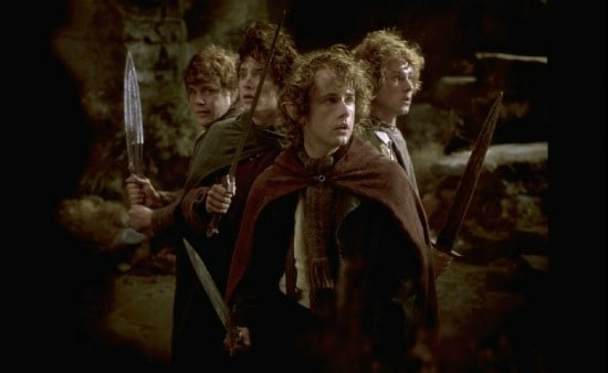 the famous fellowship of the ring