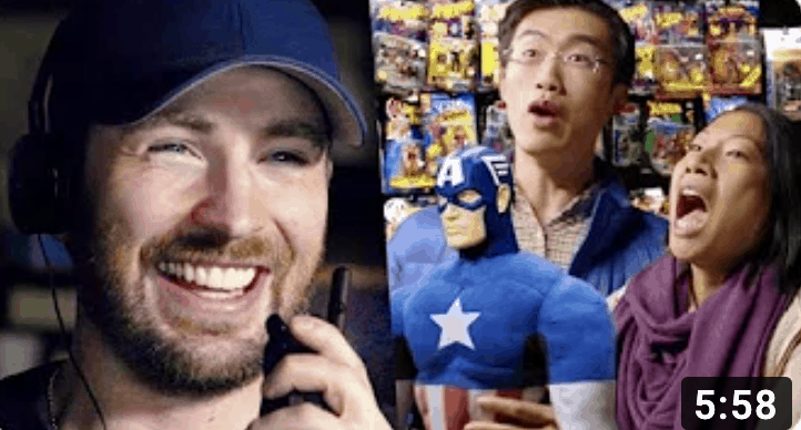 Captain America Chris Evans Prank Escape Game by Trapology Boston