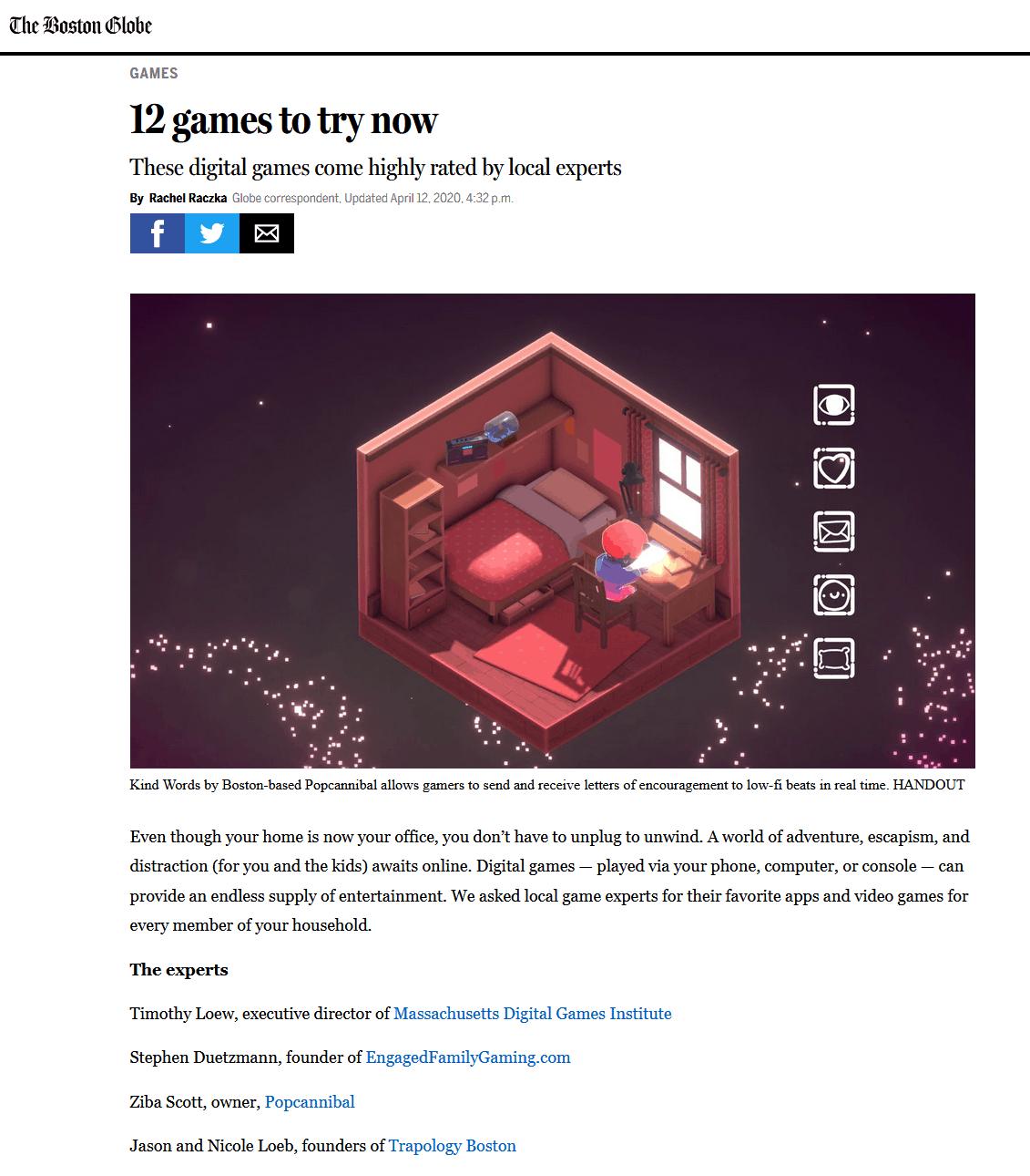 Best digital games